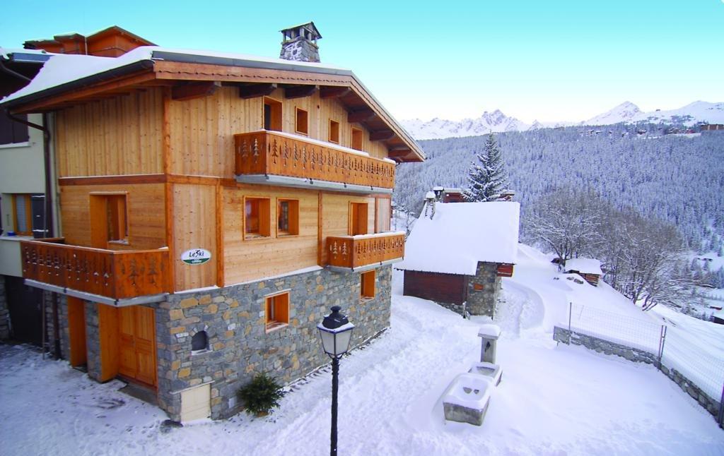 chalet caribou in courchevel 171 le ski