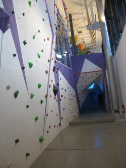 Courchevel Aquamotion Ecalade Climbing Wall