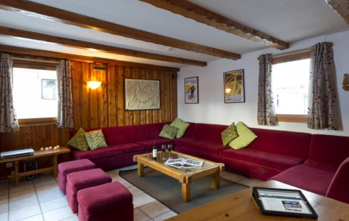 Chalet du Berger lounge