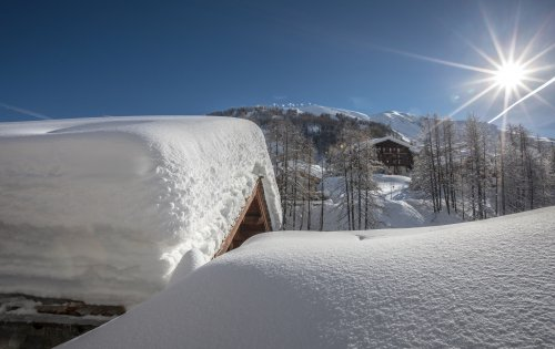 The view from Chalet du Berger