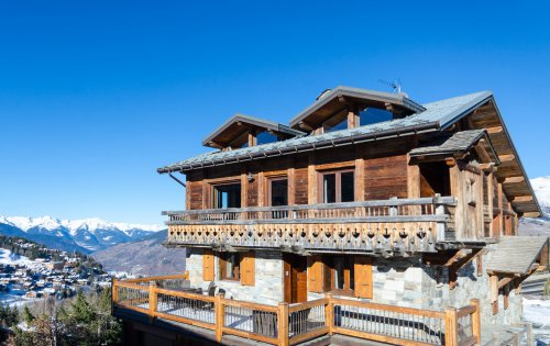 Chalet Eagle's Nest on its perch