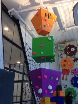 Aquamotion Courchevel Escalade Climbing Wall