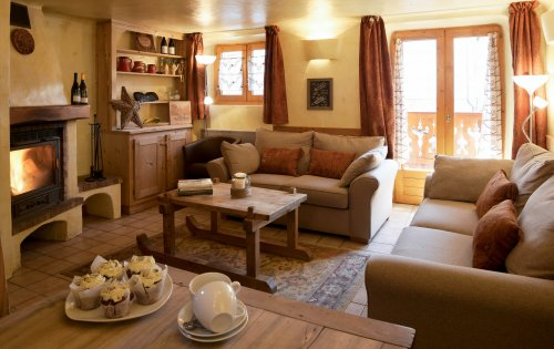 Chalet Maurilisa lounge