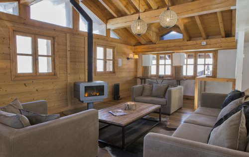 Chalet Orchidee lounge