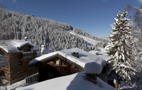 The view from Chalet Orchidee