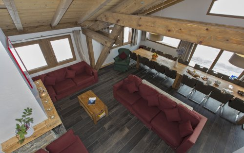 Chalet Rikiki lounge